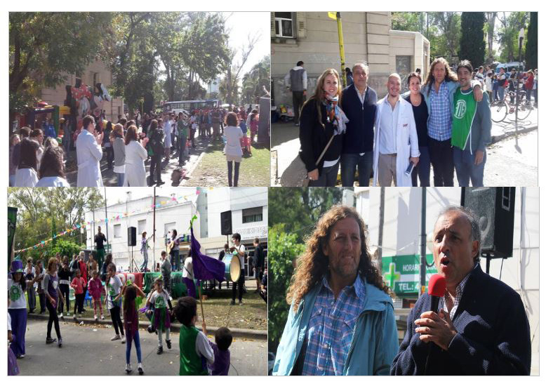 HOSPITAL SOR MARÍA LUDOVICA DE LA PLATA: Festival en Defensa de la Salud Pública